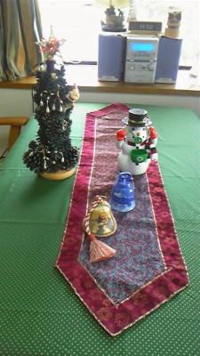 クリスマステーブルセンター